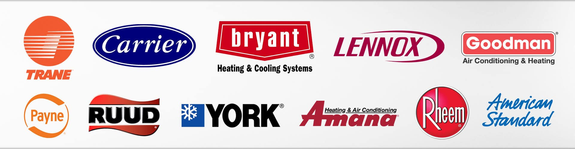 brands of air conditioners we repair
