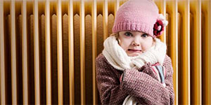 child cold needs heating repaired