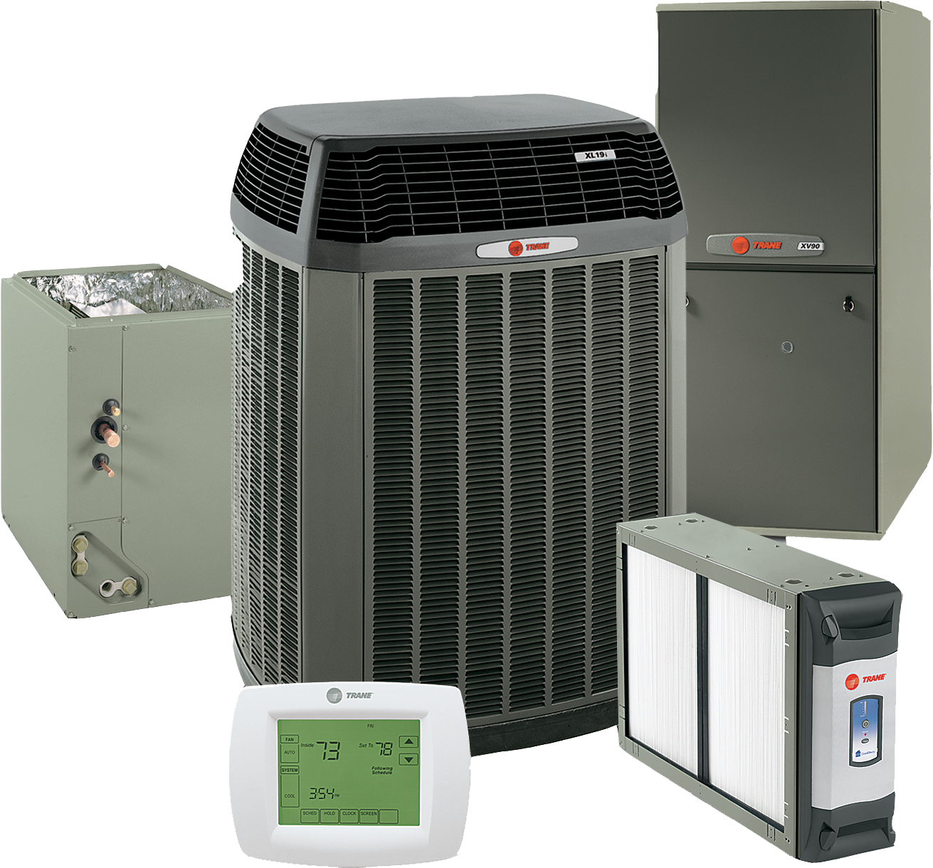 air conditioning and heating products | kool koncepts